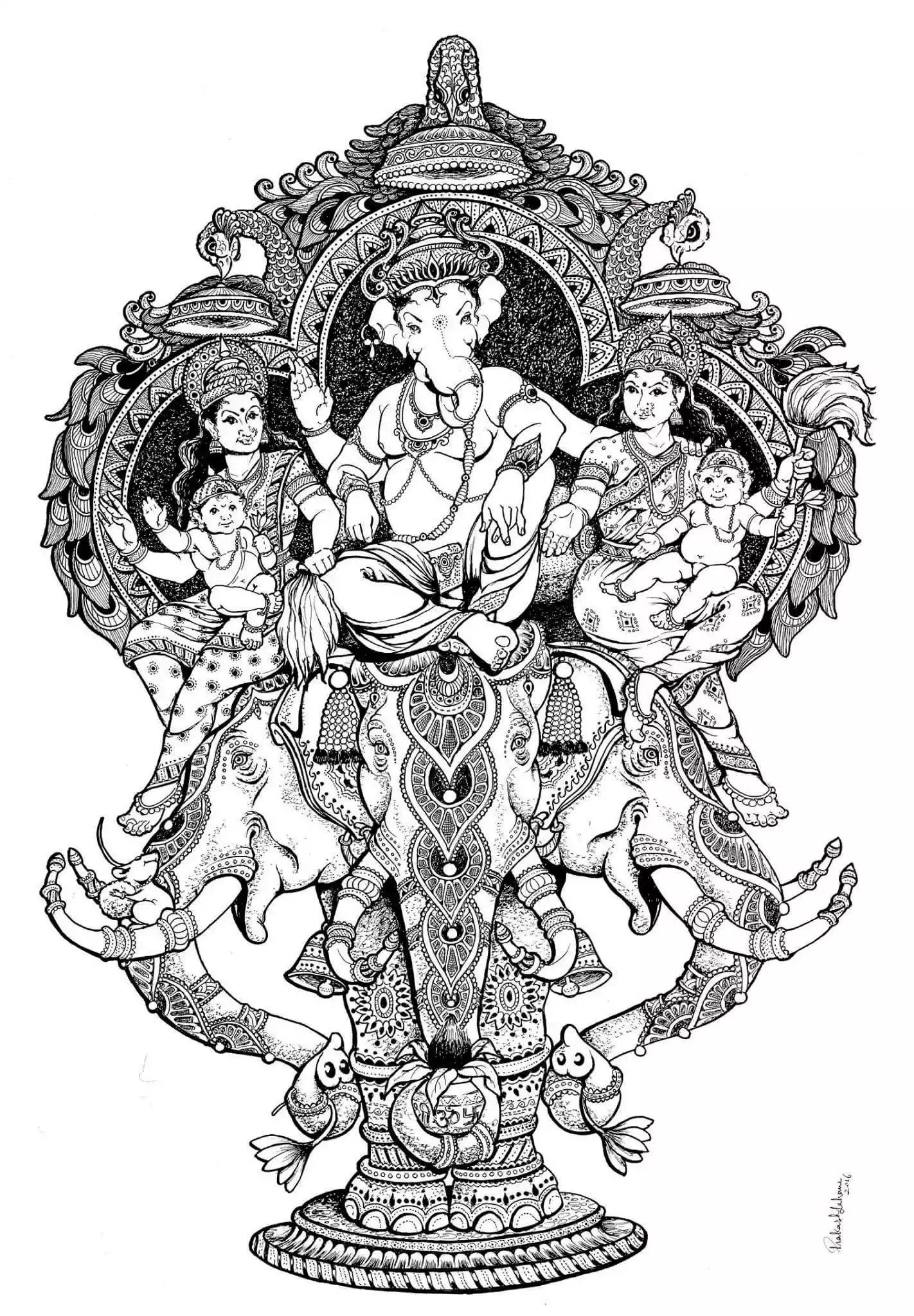 Ganesh idol ganesha art lord ganesha lord shiva shri hanuman shree