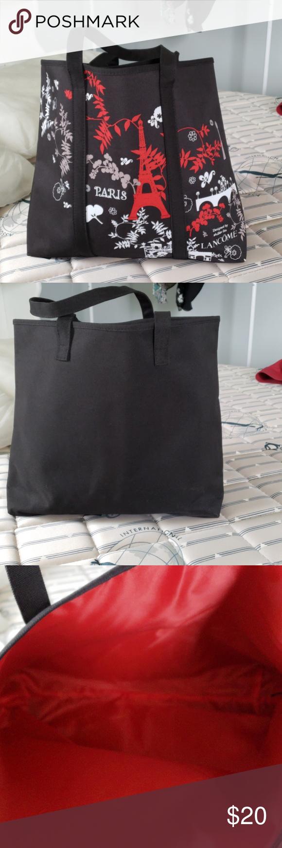 Nwot Lancome Tote Bag Regular Size Tote Bag Bags Clothes Design