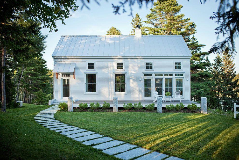 Transitional Style Coastal New England Home Idesignarch Interior Design Architecture Interior Decorating Emagazine Modern Farmhouse Exterior House Exterior Farmhouse Exterior