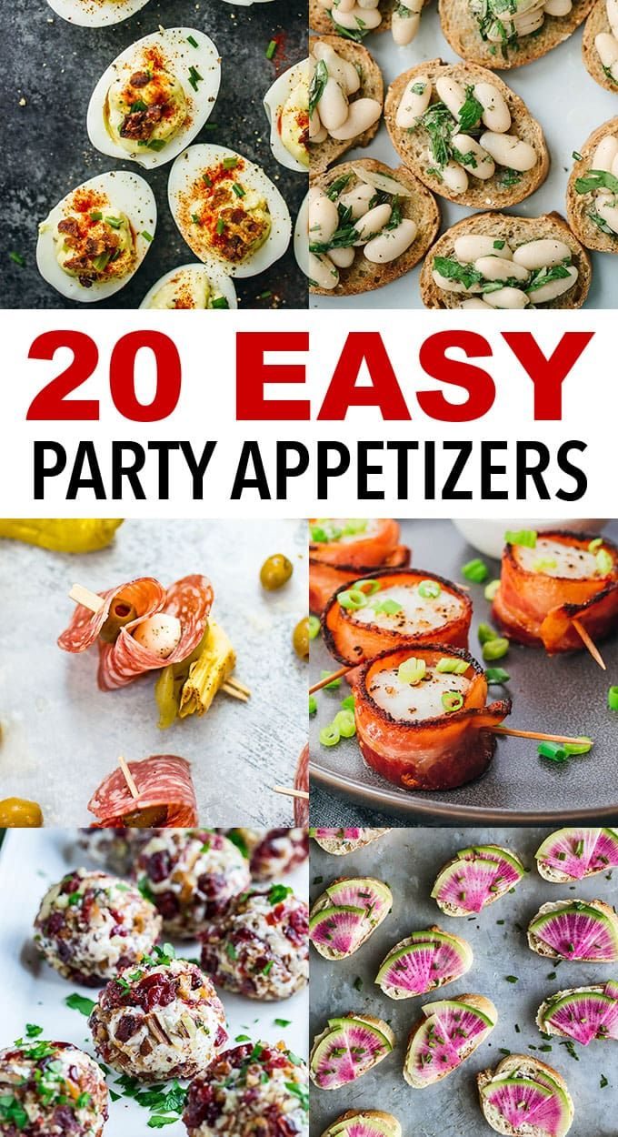 Photo of 20+ Easy Cocktail Party Appetizers