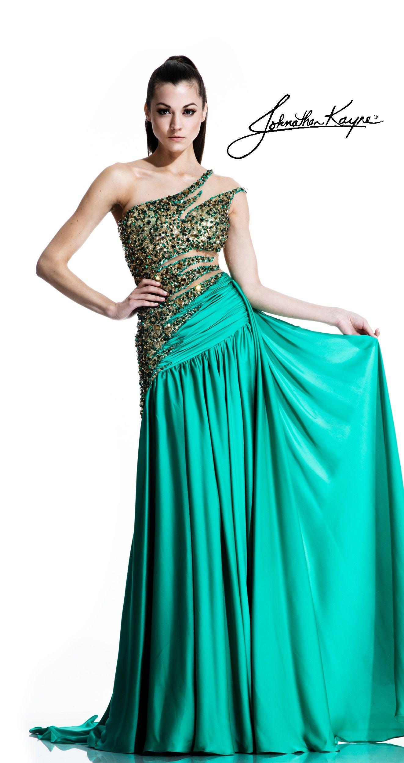 Emerald Goddess #WearItGirl #JK2015 Johnathan Kayne Collection | My ...
