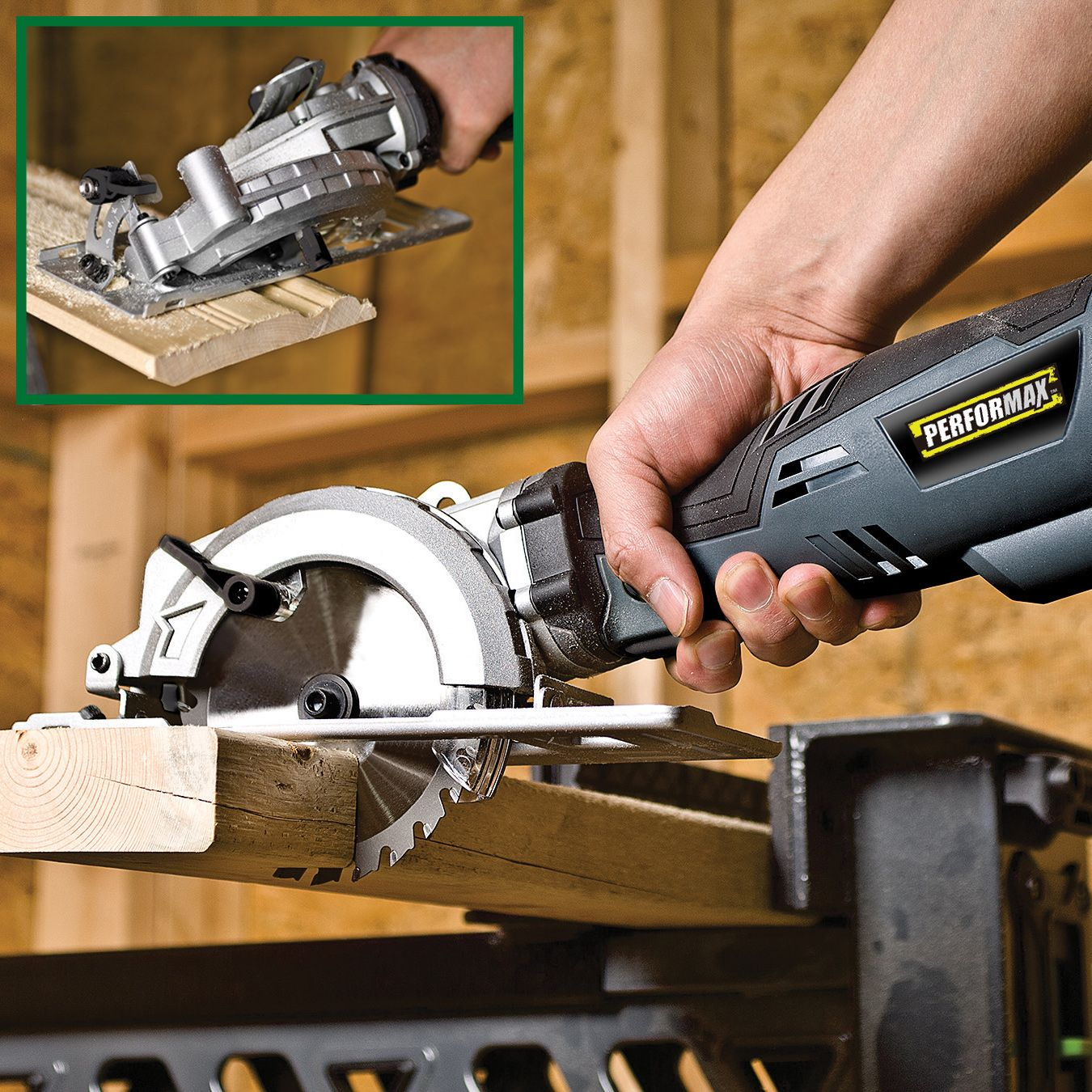 This Performax Compact Circular Saw S Compact Size Is Excellent For Maneuverability Portability And Con Holzschnitzerei Werkzeuge Holzschnitzerei Schnitzerei