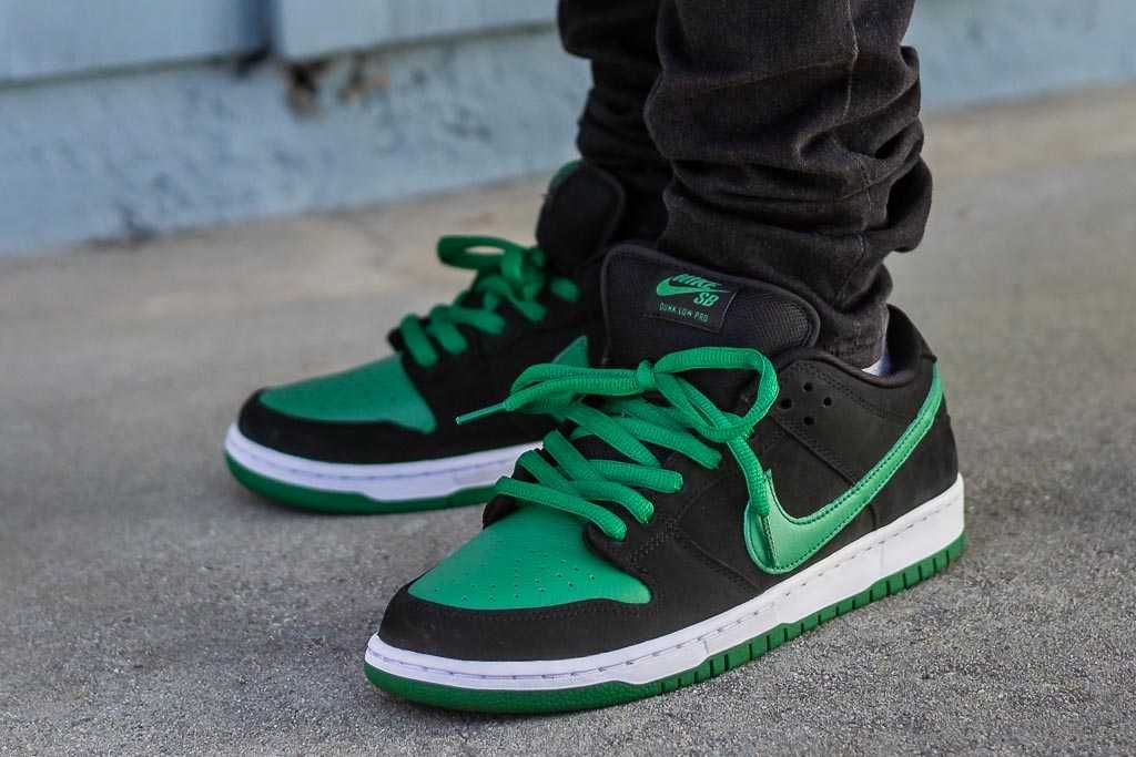 Nike Sb Dunk Low Pine Green On Feet Review Nike Sb Dunks Nike Sb Sneaker Collection