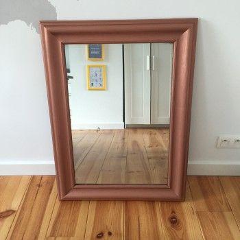 conseils pour peinture à la bombe  cadre miroir Idées pour la - peinture en bombe pour bois