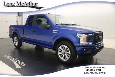 2018 Ford F 150 Xl Stx Appearance 10 Speed Supercab Ecoboost Msrp 39490 Port Cloth Sync 3 20 Machined Aluminum Wheels Ford Trucks Ford F150 Aluminum Wheels