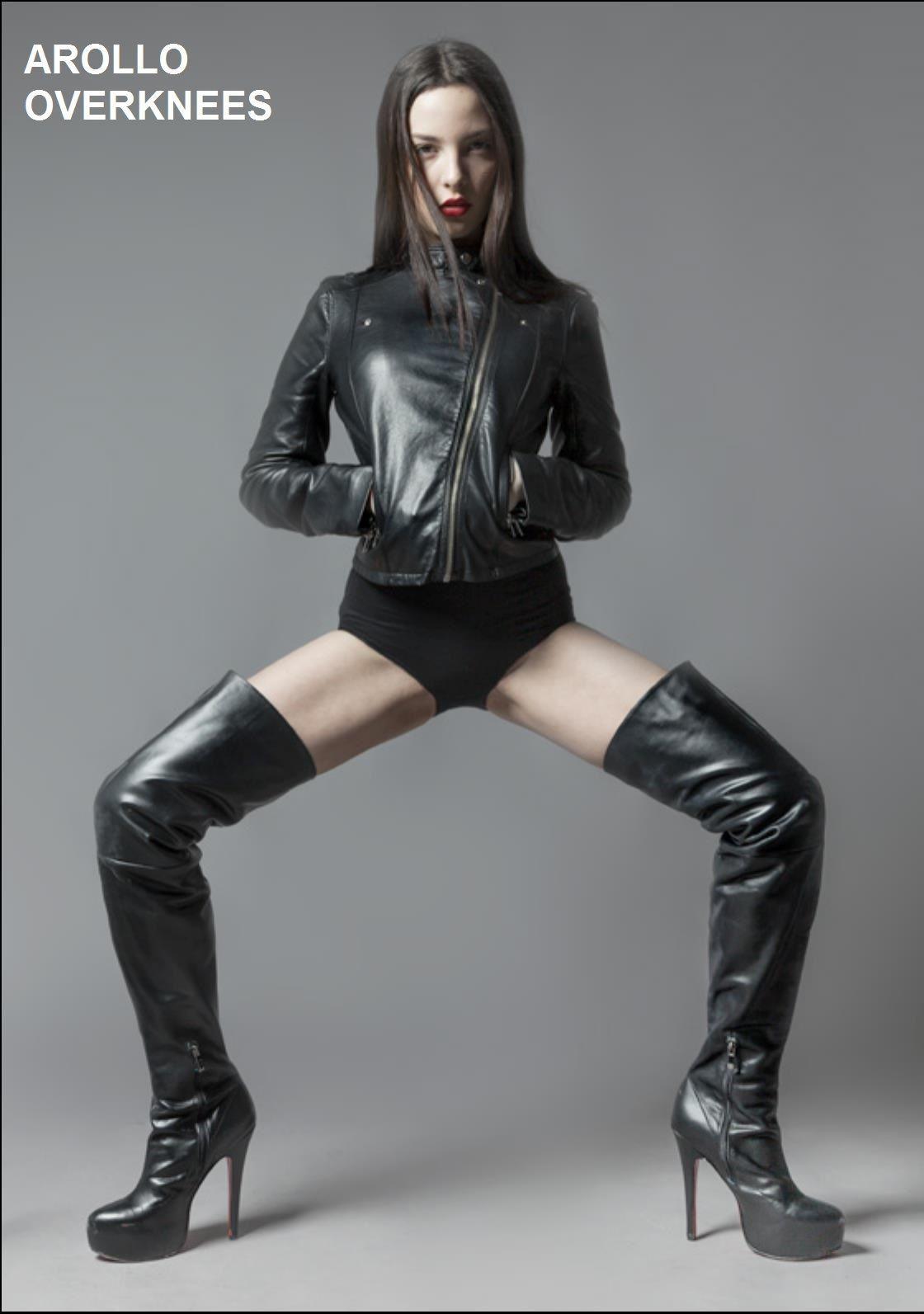 Arollo Leather Heeled Boots E1222e68f4ac39cf1922e58933e717d0