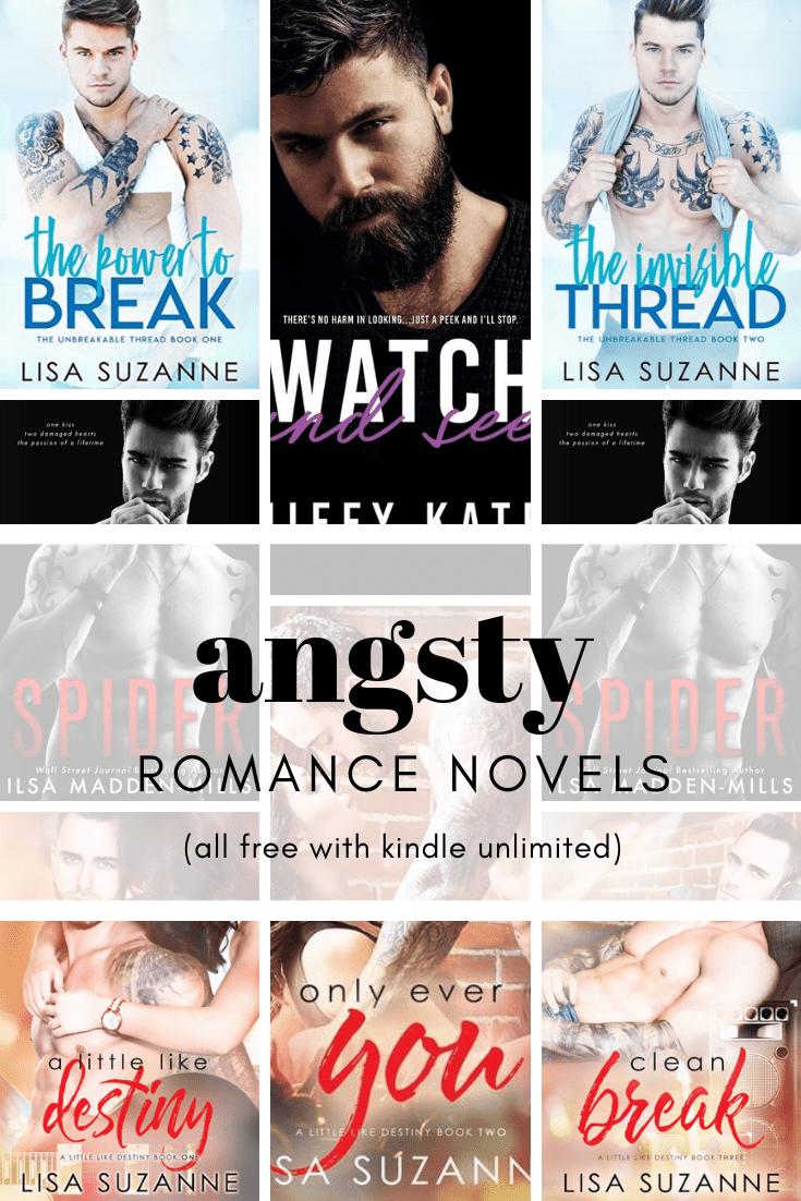 Angsty Kindle Unlimited Romance | Good romance books