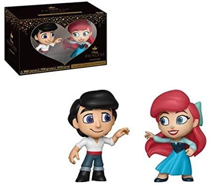 Amazon.com: Funko Mini Vinyl Figures: Little Mermaid - Eric and Ariel 2-Pack: Toys & Games