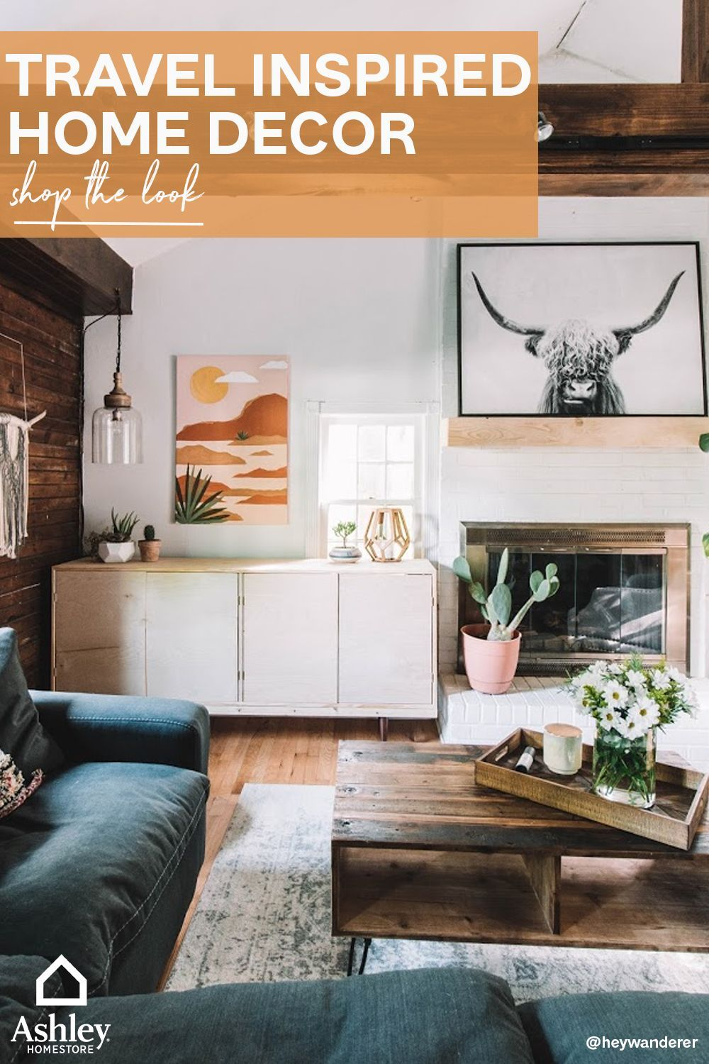 Travel Inspired Home Decor You Will Love Living Room Decor Furniture Home Home Decor Travel living room decor