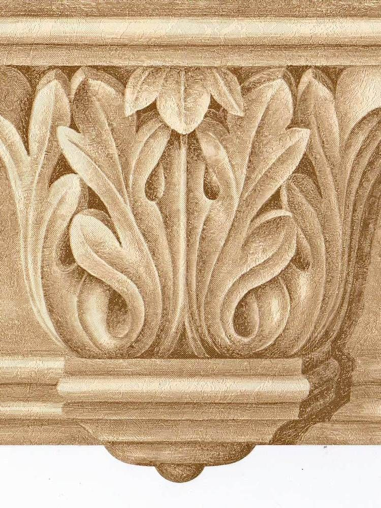 Victorian Architectural Golden Crown Molding Wallpaper Border 525 Norwallwallcovering Architecturalcrownmoldinggolden