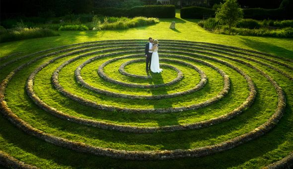 Wedding Spiral Matara Well Being Gardens Uk Eco