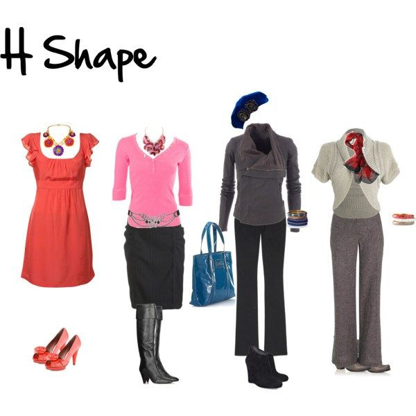 How to dress H Shape (rectangle shape)