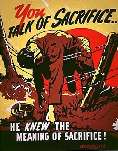 We remember the fallen: World War II American propaganda posters