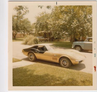 This 1971 photo is of the so-called AstroVette. It was owned by Alan Bean, a member of the Apollo 12 crew. . Photo: Courtesy Of Danny Reed