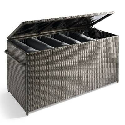 Outdoor Cushion Storage Box   Grandin Road