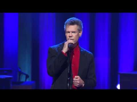 """Randy Travis - """"Three Wooden Crosses"""" at the Grand Ole Opry Please pray for Randy Travis...I pray the Lord let's him recover and that Randy will then be used in a mighty way."""