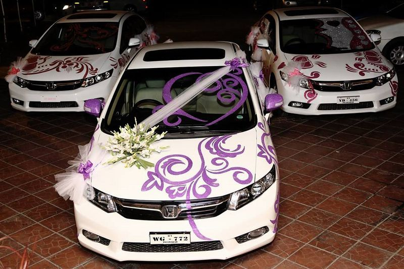 Top 25 Unique Wallpaper Inspiring Wedding Cars Decoration In