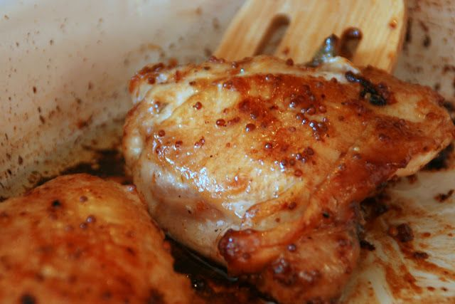 Cooking with Chopin, Living with Elmo: Honey-Mustard Roasted Chicken