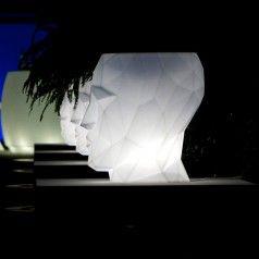 Vondom ADAN White Light Illuminated Vase | LED planters | Pinterest ...