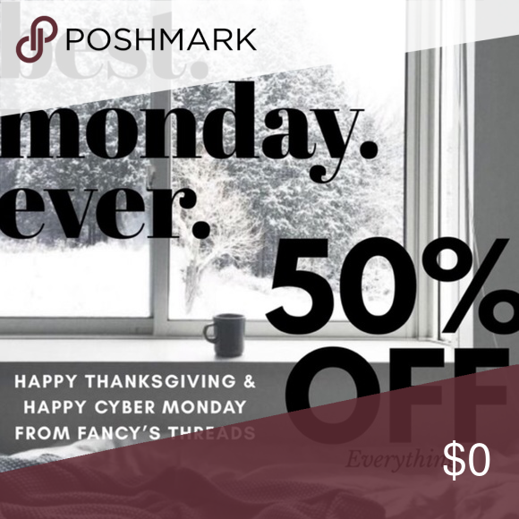 HAPPY HOLIDAYS ENJOY THIS ONE TIME ONLY SALE! Cyber