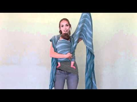 Front Wrap Cross Carry Tied At Shoulder Fwcc Tas With Newborn