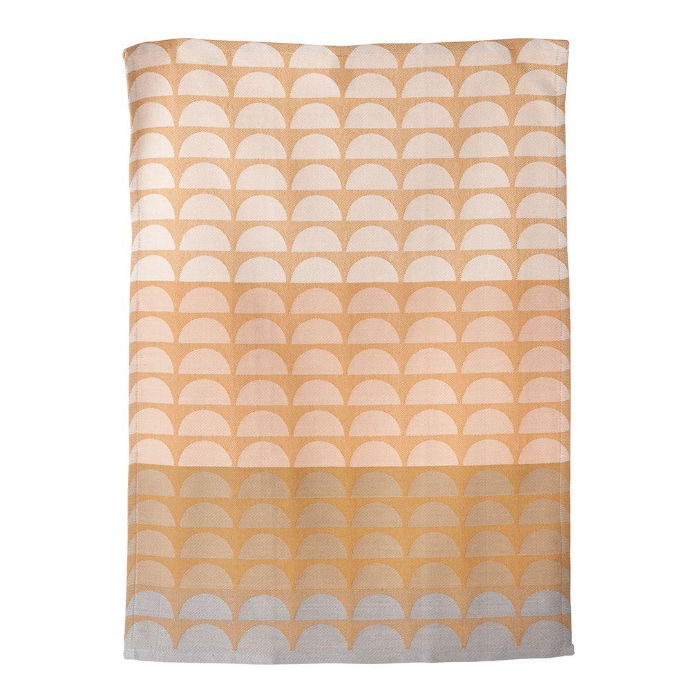 Bridges+Keittiöpyyhe+50x70cm,+Vaaleanpunainen,+Ferm+Living