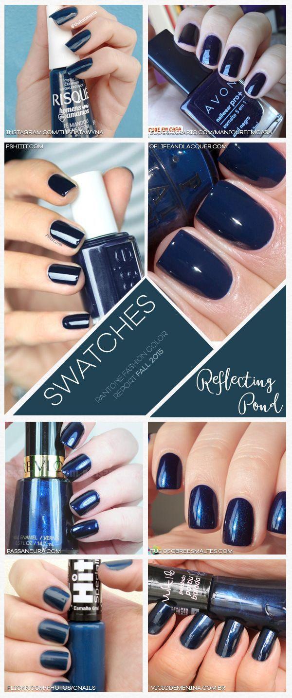 Pantone Fashion Color Report Fall 2015 Reflecting Pond | Makeup ...