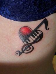 Photo of treble clef music tattoos – Google Search