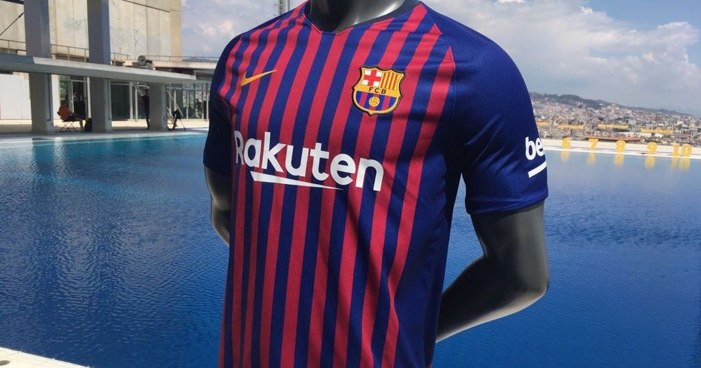 differently 13eb0 cd6af Barcelona unveil new home kit for 2018-19 season | Web Pixer ...