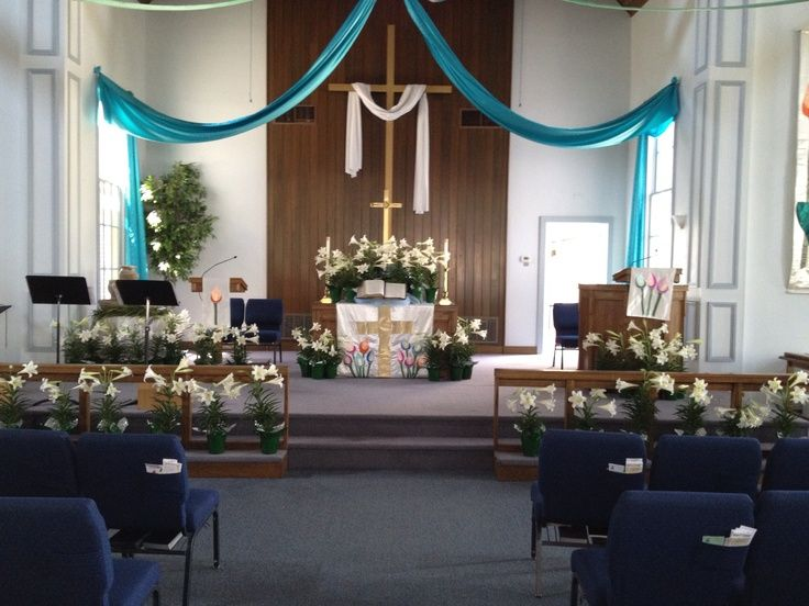 Easter Church Decorations Pictures