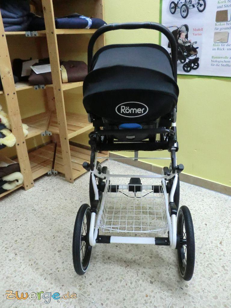 3495c97d37043d Naturkind Kinderwagen mit der Babyschale nutzen