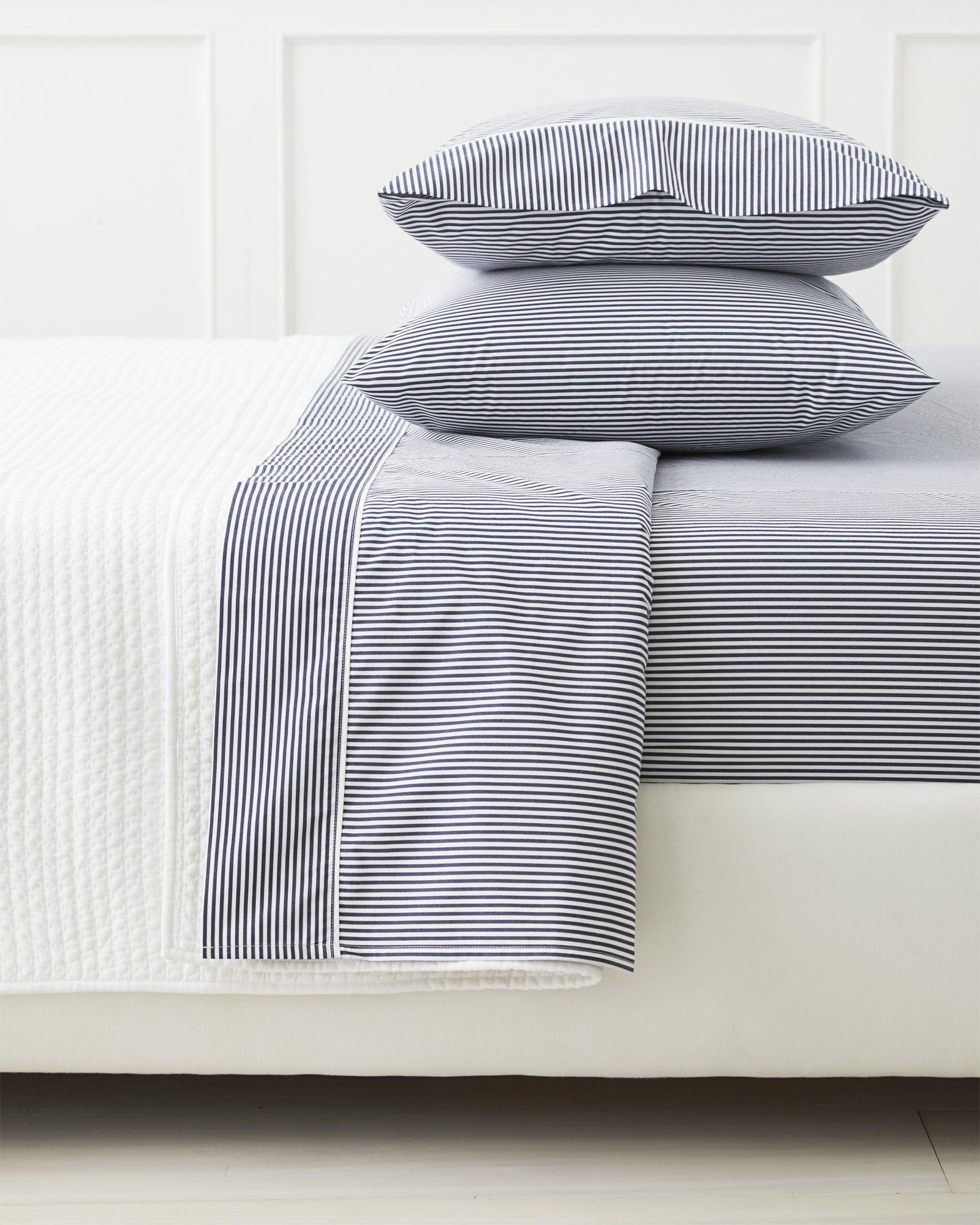 Serena Lily Oxford Stripe Sheet Set Luxury