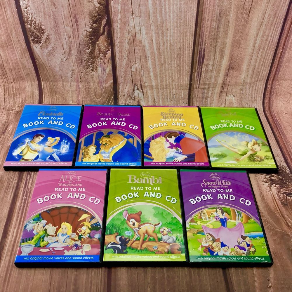 Disney stories bundle audio books Read To Me Book And Cd X7 Complete