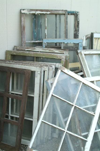 vintage windows...what could I do with these??
