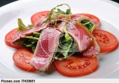 Tuna dishes   Atum cru   fotografia stock #3608330   Pixmac