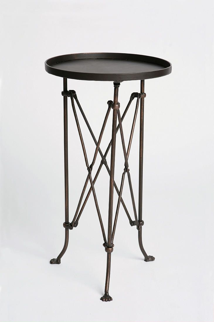 Metal Accordion Side Table | Metals, Living rooms and Room