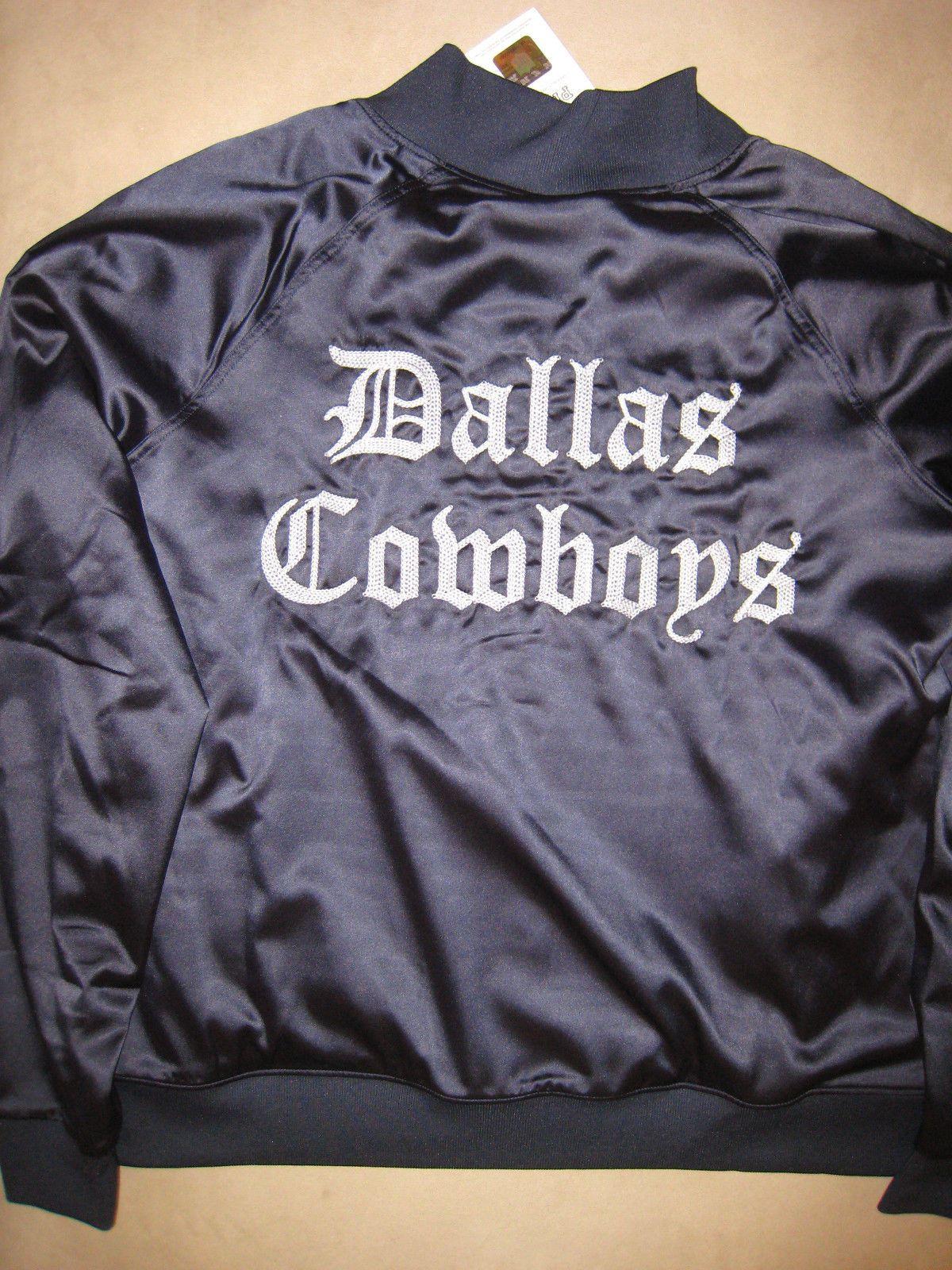 big sale 37237 d6510 DALLAS COWBOYS Victoria's Secret Satin Jacket NFL Football ...