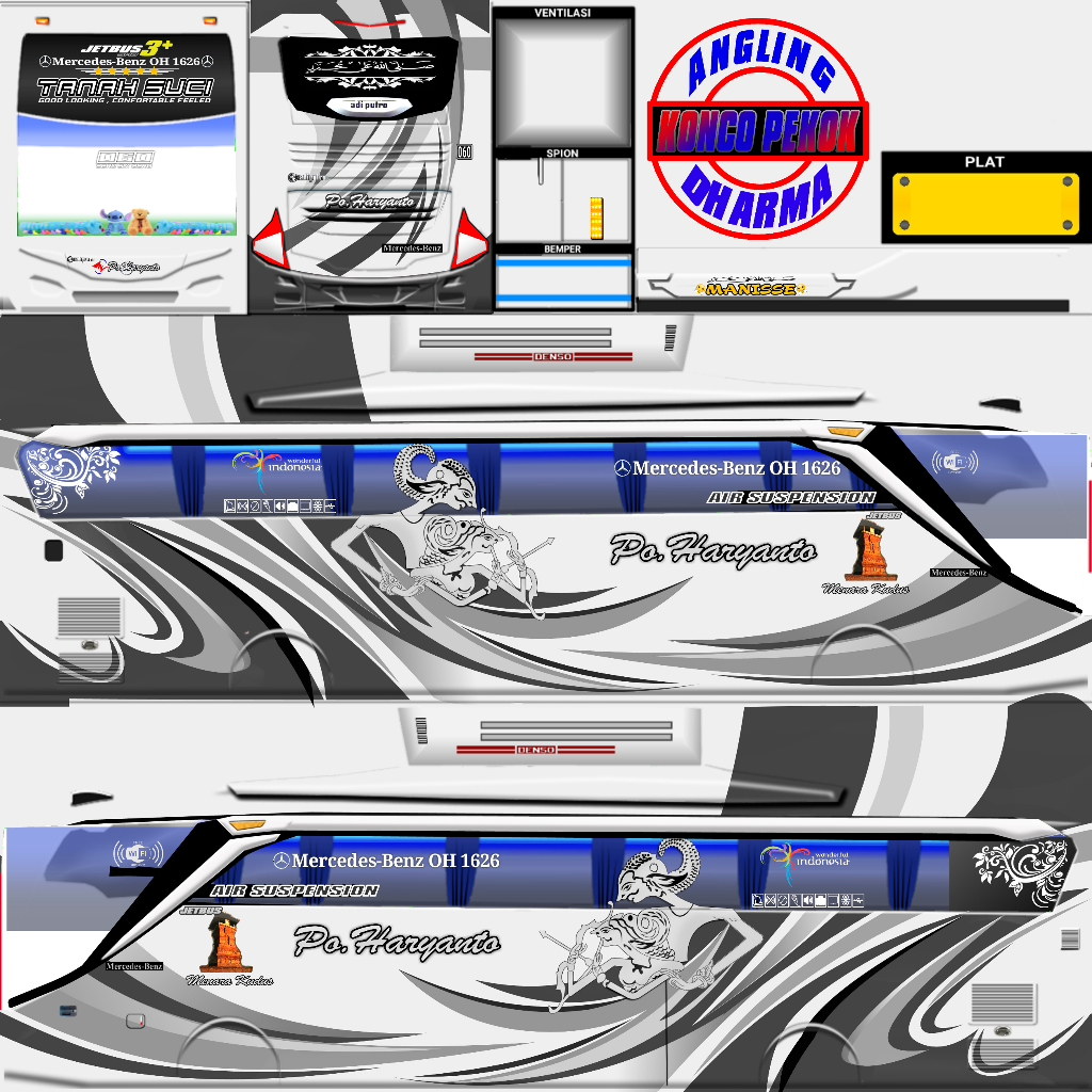 710 Koleksi Mod Bussid Mobil Dan Motor Gratis