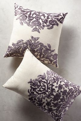 Vining Velvet Pillow - anthropologie.com