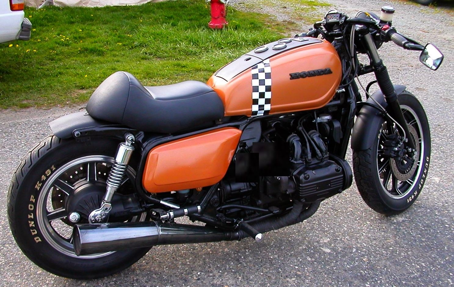 """The """"Bomber"""" GL1100 project - added video"""