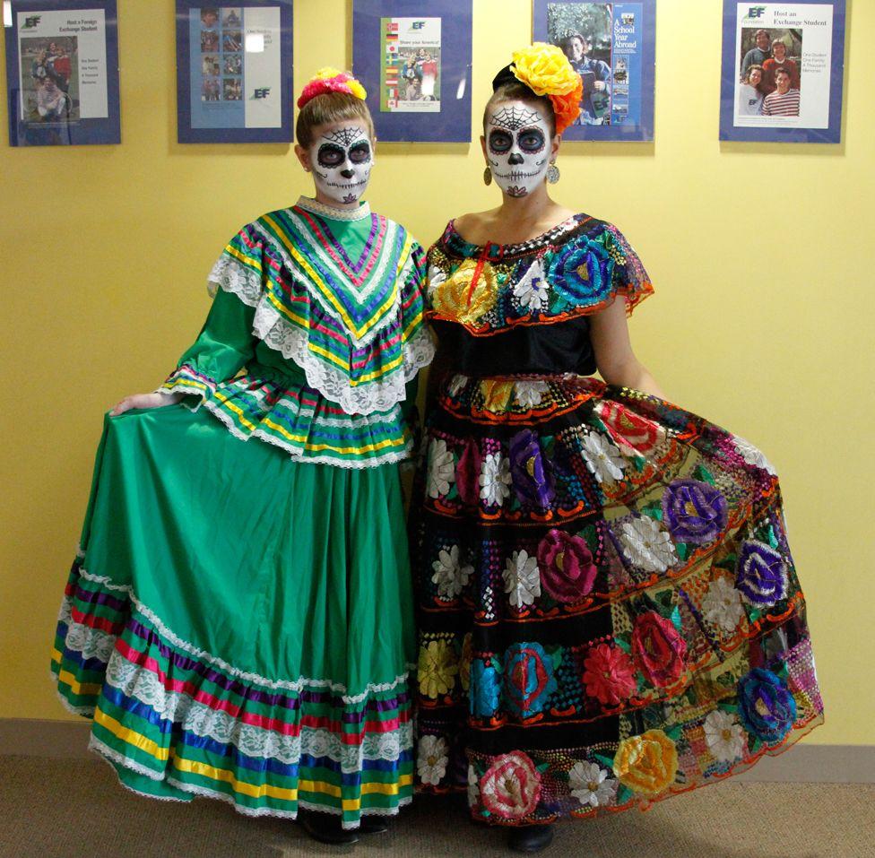 Feliz Día de los Muertos from Cultural Care! Cool