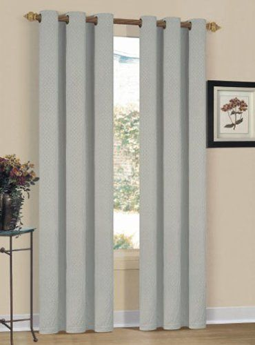 Duck River Textile Delhi 40 Inch By 84 Inch Window Curtain With