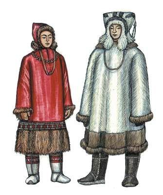 костюмы коряки картинки