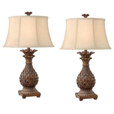 "Bay Isle Home Vihaan 30"" Table Lamp in 2019 Nightstand"