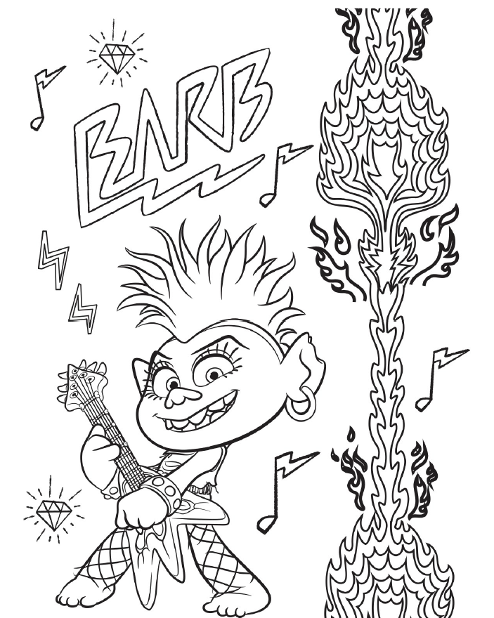 Trolls World Tour Coming 7 7 20 To Dvdxpress Kiosks Get The Kids Pumped With These Coloring Pages Free Coloring Pages Cartoon Coloring Pages Coloring Pages