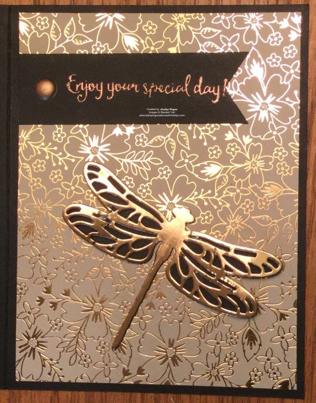 Dragonfly Dream Wishes - Stamping Creations With M