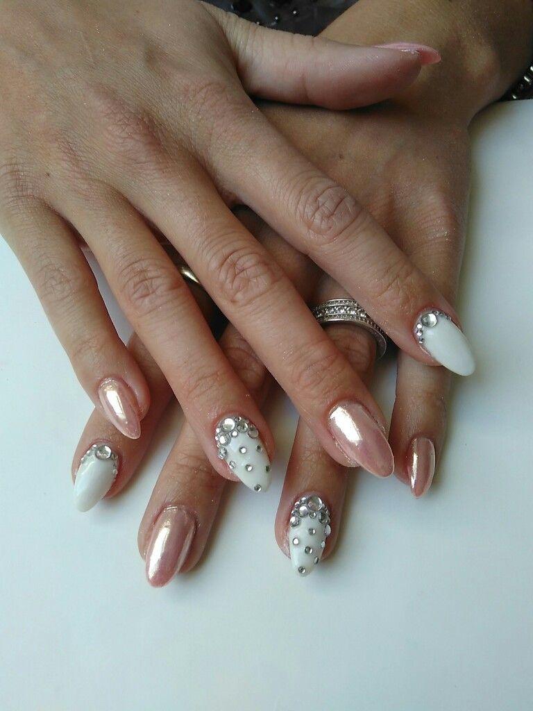 Chrom nails | Fingernägel | Pinterest | Nagelschere, Nageldesign und ...