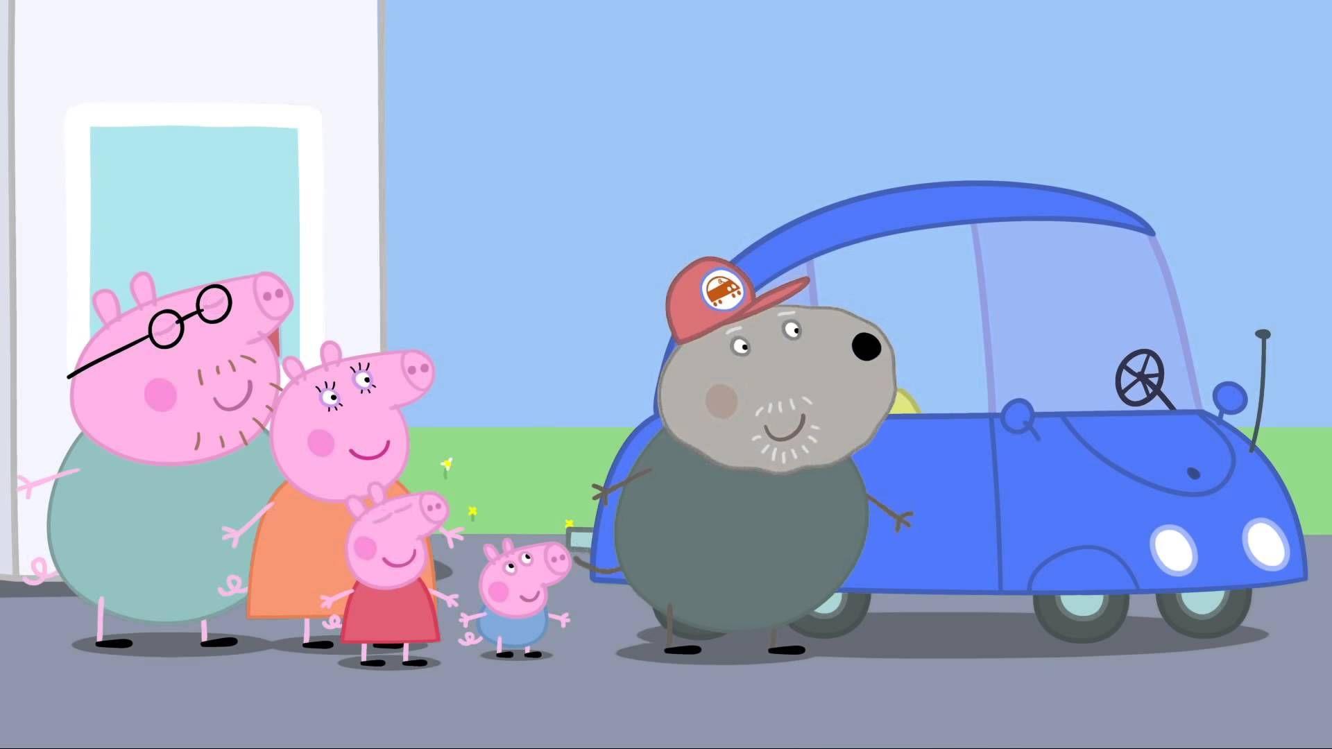 peppa pig the new car cartoons for kids children cartoon