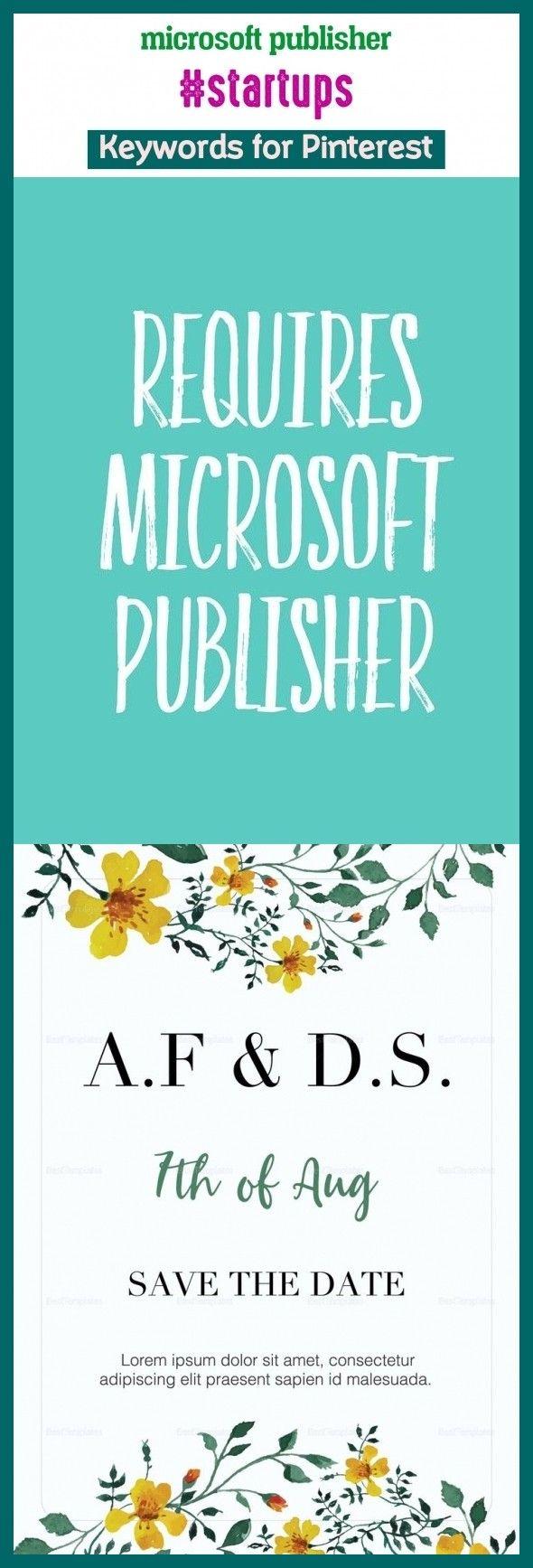 Microsoft publisher startups pinterestkeywords tech