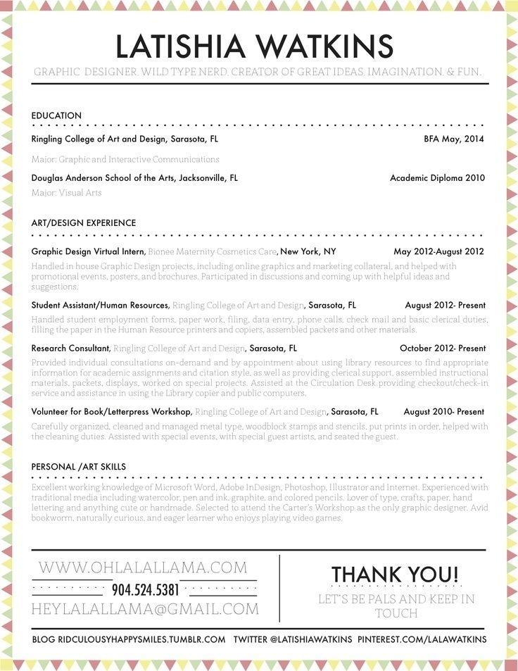 26 CV originaux que vous voudrez immédiatement copier Graphic - graphic resume